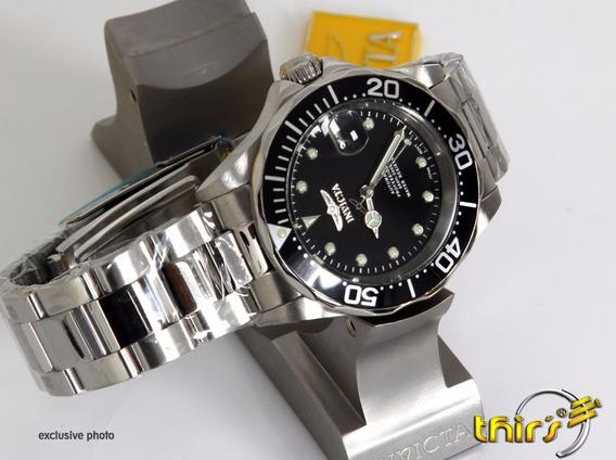 Invicta Automatico 17039 Nh35 Original - 40 Mm Am Aço