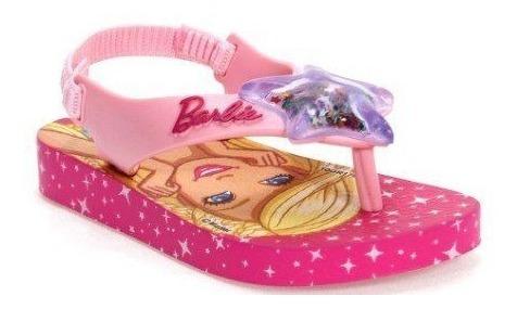 Chinelo Ipanema Barbie Baby Infantil Rosa 20827