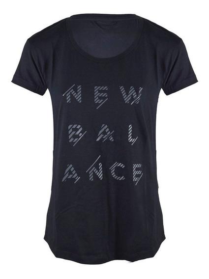 Remera New Balance Sport Style Wt71568bk