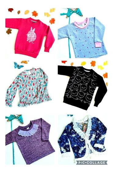 Ropa De Nena. Lote De 4 Sweaters Y Buzos. Oportunidad!!