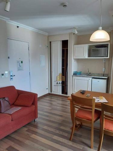 Imagem 1 de 10 de Flat Para Alugar, 48 M² Por R$ 4.000,00/mês - Consolação - São Paulo/sp - Fl0043