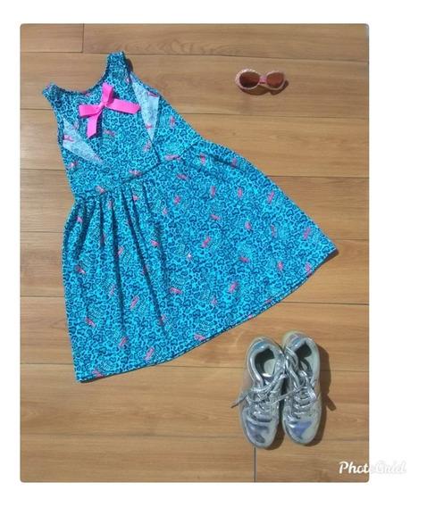 Vestidos Para Niñas, En Algodon Importados, Para La Playa O