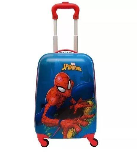Malinha Infantil Spiderman Rodinhas 360 19pc Sestini
