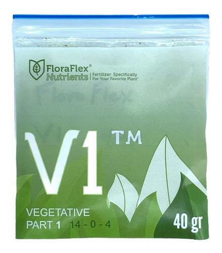 Imagen 1 de 4 de Nutrientes Fertilizantes Minerales Veg V1 Flora Flex 40g