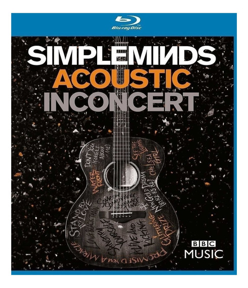 Simple Minds - Acoustic In Concert - Blu Ray Lacrado