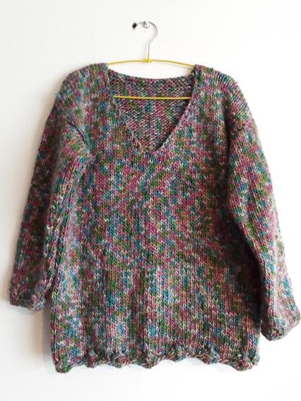 Crochetchile Sweater Matiz Talla L. Envío Gratis Chilexpress