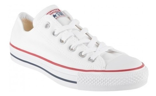 Tenis Converse All Star M7652 Blanco Dama Caballero