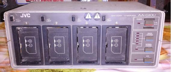 Carregador Bateria Filmadora Profissional Jvc ,aa-g10u