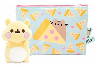 Friend Cheek The Hamster Pizza Pouch