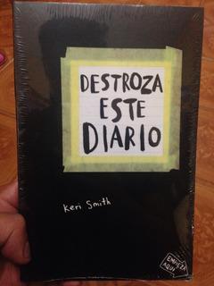 Libro Destroza Este Diario + Regalo