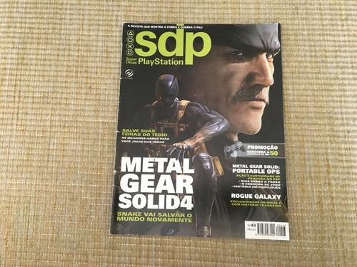Revista Super Dicas Playstation 43 Metal Gear Solid 4 P004