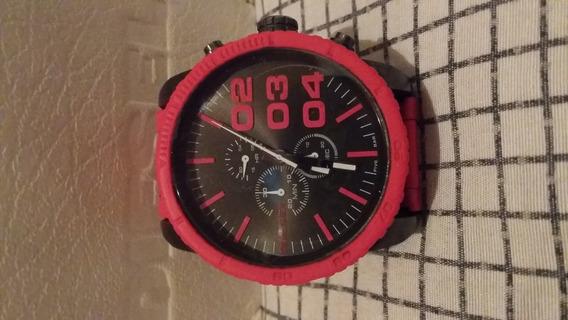 Relógio Diesel Vermelho Dz4289