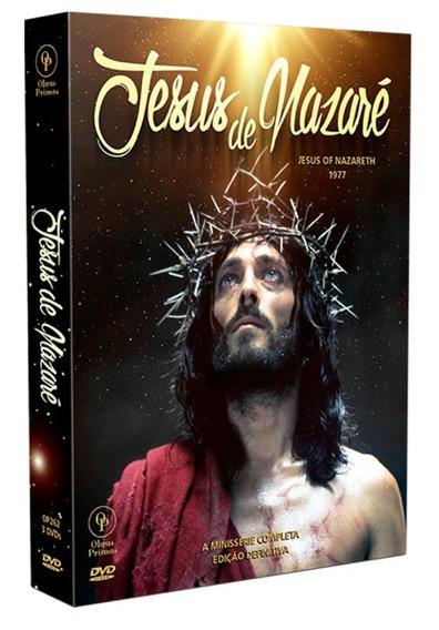 Jesus De Nazaré - Box Com 3 Dvds - A Minissérie Completa