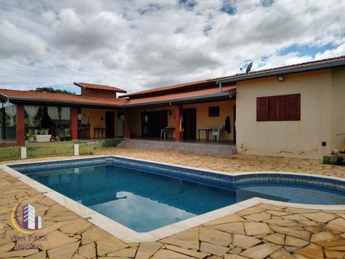 Chácara Com 3 Dormitórios À Venda, 845 M² Por R$ 750.000,00 - Parque Residencial Floresta - Jaguariúna/sp - Ch0029