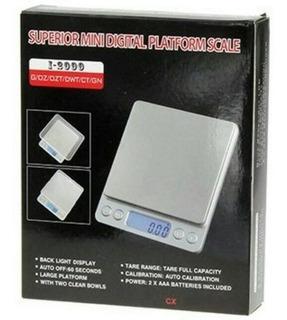 Balanza Digital Gramera Peso Oro 500gr Alta Precision