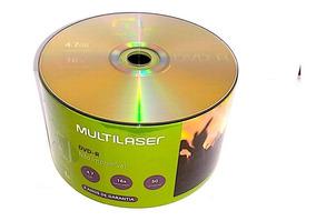 1200 Dvd-r Multilaser 16x Logo 4.7gb ( Nao Grava Jogo)