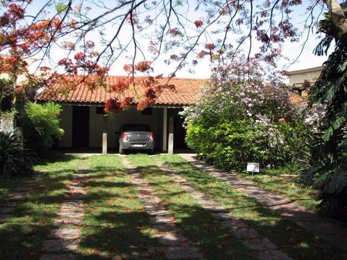 Imagem 1 de 27 de Casa Com 5 Dormitórios À Venda, 388 M² Por R$ 990.000,00 - Jardim Das Paineiras - Campinas/sp - Ca0642