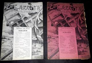 2 Revistas Tradicionalista La Carreta Avellaneda 1935 1939