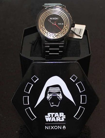Relógio Novo Original Nixon Kylo Black, Star Wars Importado