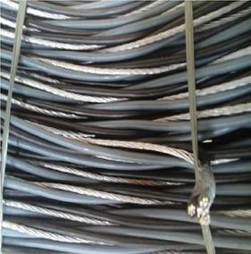 100 Metro Fio Cabo Multiplex Triplex 2+1 Nu Aluminio 16 Mm