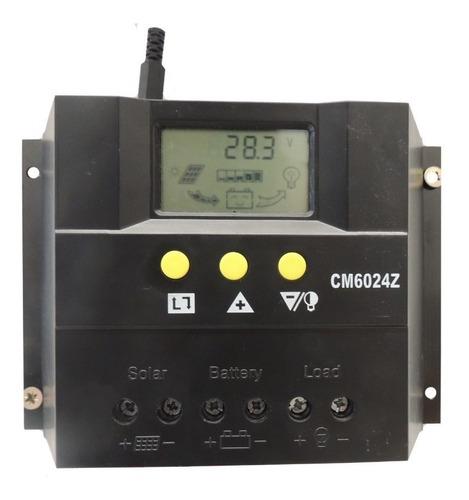 Regulador De Voltaje 60amp Para Sistema Solar Fotovoltaico