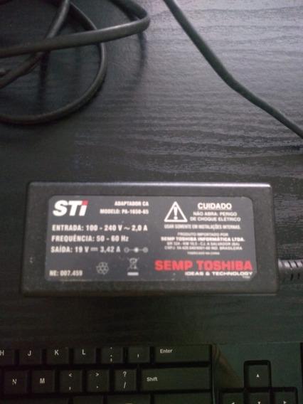 Fonte Carregador 19v 3,42a Notebook Semp Toshiba