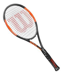 Raquete De Tenis Wilson Burn Countervail Garfite E Laranja