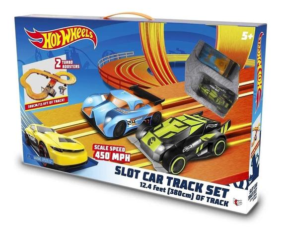 Autorama Hot Wheels Slotcar Trackset 3,80m Multikids-br082