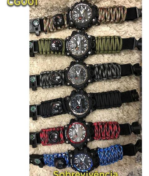 Relógio G-shok Sobrevivência