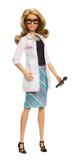 Barbie Profissão Oftalmologista Mattel Nova E Lacrada