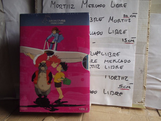 Pack 3 Películas Dvd Anime Ghibli Volumen 2 Hayao Miyazaki