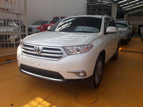 Toyota Highlander Base Premium Sport Aa Qc Piel At 2012