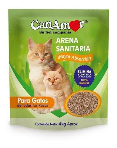 Arena Sanitaria Para Gatos Canamor