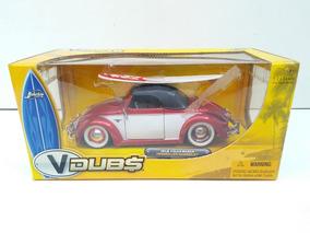 Miniatura V Dubs Volkswagen Fusca Cabriolet - 1:24 Jada
