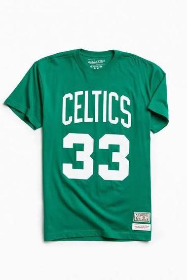 Camiseta Mitchell & Ness Boston Celtics Oficial