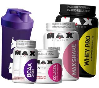 Kit Emagrecedor Custo X Beneficio Feminino E Masculino - Max