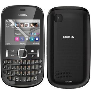 Nokia Asha 201 - 2mp, Mp3, Só Funciona Vivo - Novo