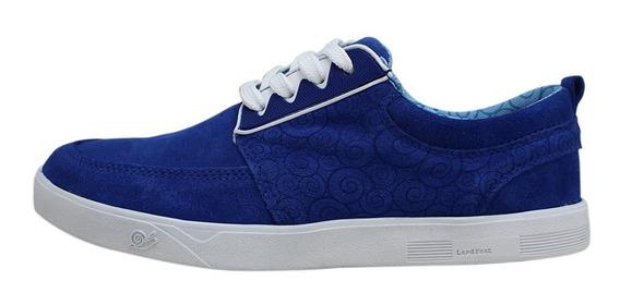 Tênis Land Feet Tj Azul Royal Feminino Original