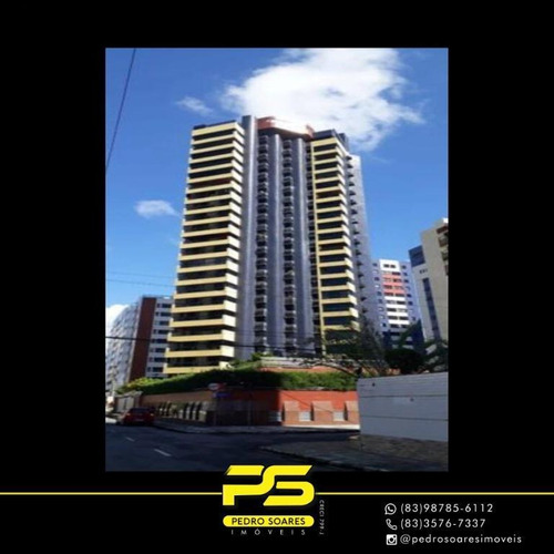 (oportunidade) Apartamento Com 4 Dormitórios À Venda, 296 M² Por R$ 980.000 - Manaíra - João Pessoa/pb - Ap3498