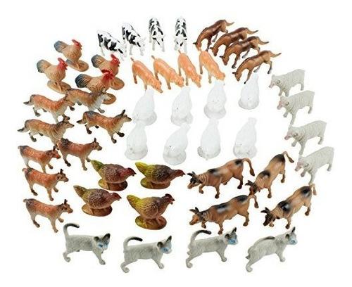 Juego De Juguete De Juguete Para Animales De Granja Boley -