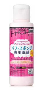 Daiso Detergente Para Esponja E Pincéis De Maquiagem -80ml