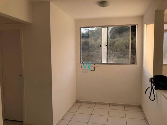 Apartamento Com 2 Dormitórios À Venda, 50 M² Por R$ 130.000,00 - Campo Grande - Rio De Janeiro/rj - Ap0021
