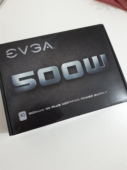 Fonte Atx Evga 500 Watt 80 Plus