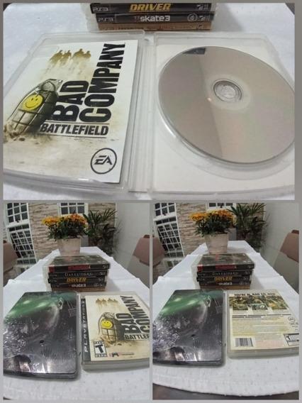 Games Jogo Battlefield Bad Company + Case Metal Splinter Ps3