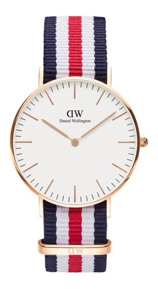 Reloj Unisex Daniel Wellington Classic36 Canterbury Rg White
