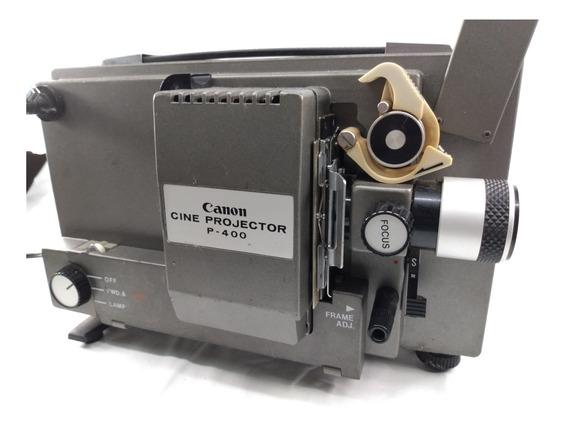 Projetor Filme 8 E Super 8 Mm Canon P400, No Estado.