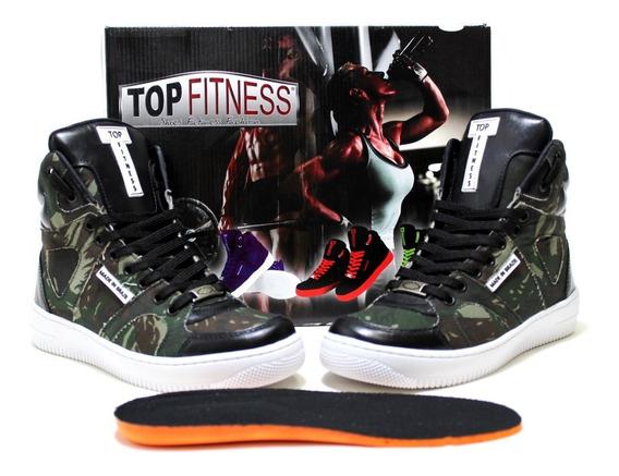 Sneakers Feminina Fitness Botinha Para Dança Melhor Performa