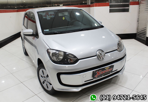 Vw Up 1.0 Move 2015 Prata Financiamento Próprio 4898