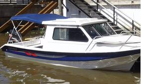 Traker Cabinado7 Mts El Mas Full Estilo Daycruiser F.b 120hp
