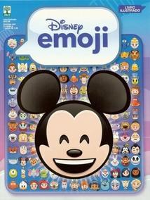 Emoji Disney Álbum E 50 Pacotinhos Lacrados